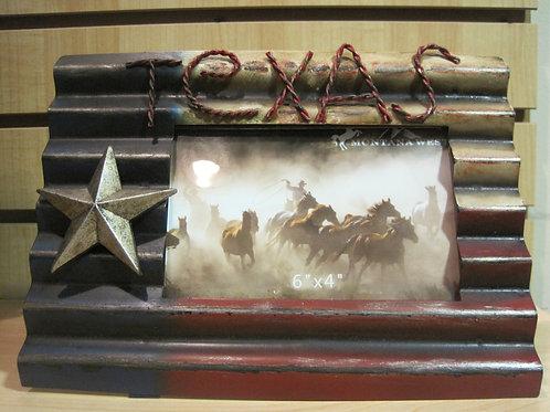 Texas flag photo frame