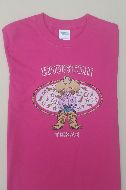 Cowgirl Pink Youth Shirt