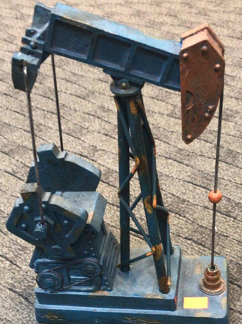 Oil rig - Blue