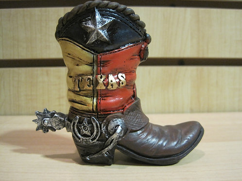 Texas Boot Stationery holder
