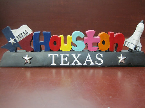Houston Texas lettering