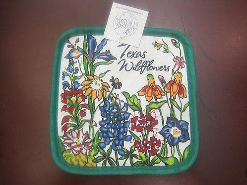 Texas Wildflowers Pot Holder