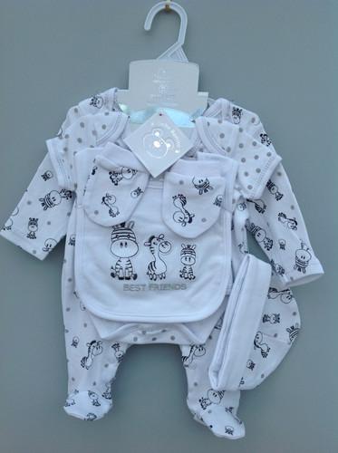 d11db2d4cdf33 Baby Bonito 5pc Zebra Gift Set