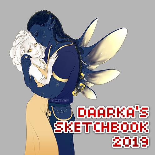 Daarka's 2019 Sketchbook
