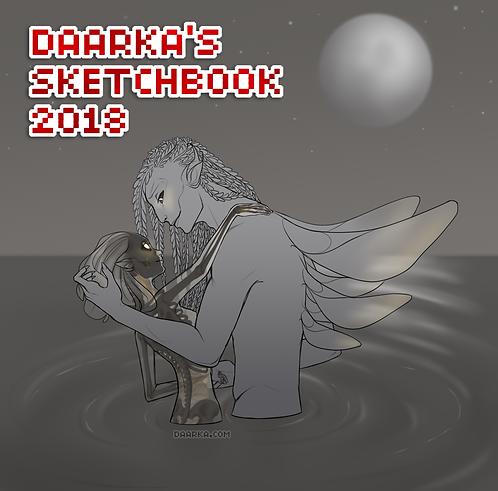 Daarka's 2018 Sketchbook