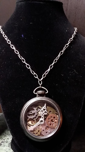Necklace - Steampunk Timepiece