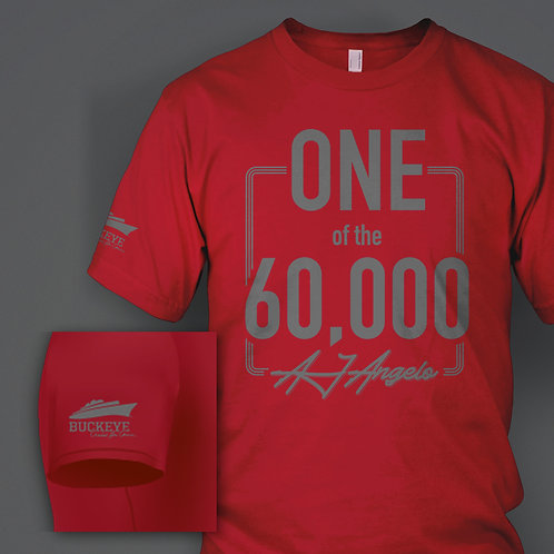 AJ 60,000 BC4C Fan T-Shirt ($5 of every BC4C T-Shirt will go to the BC4C)