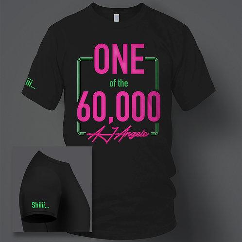 AJ 60,000 Fan NEON T-Shirt