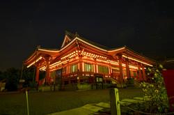 本堂(夜景)