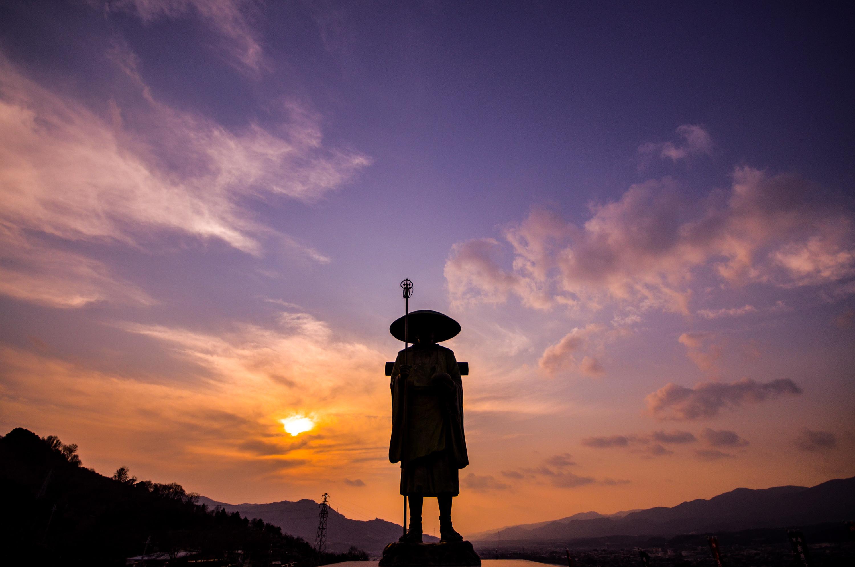 和歌山県朝日夕陽百選の夕景