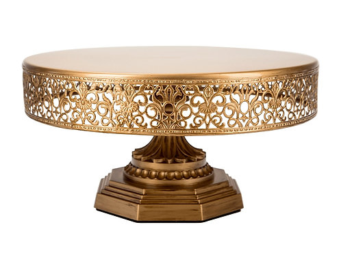 Cake Stand - Gold