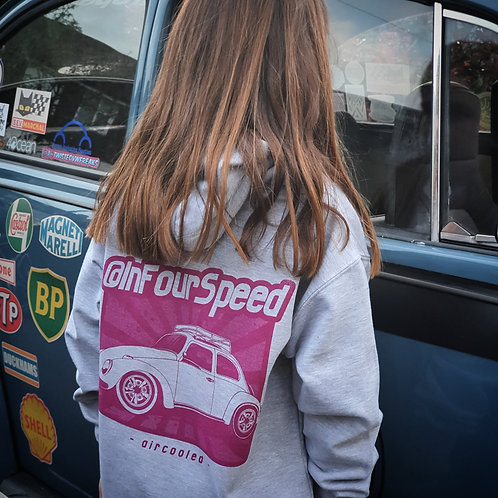 InFourSpeed Beetle Hoodie Child Size