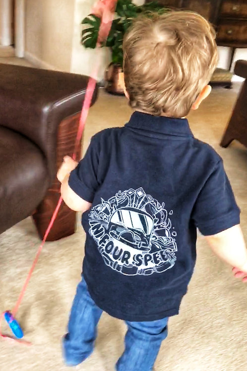 In Four Speed - Kid's Polo Shirt