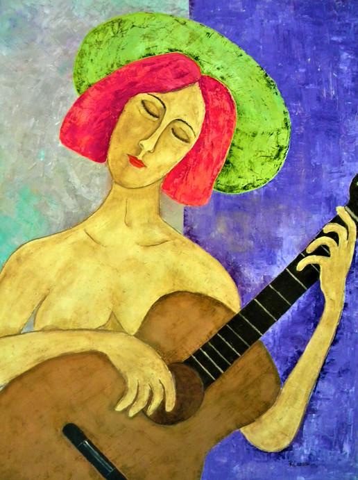 Musa para un guitarrista