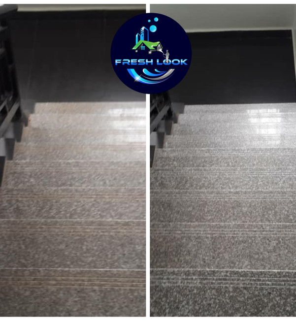 Ceramic tile cleaning and sealing