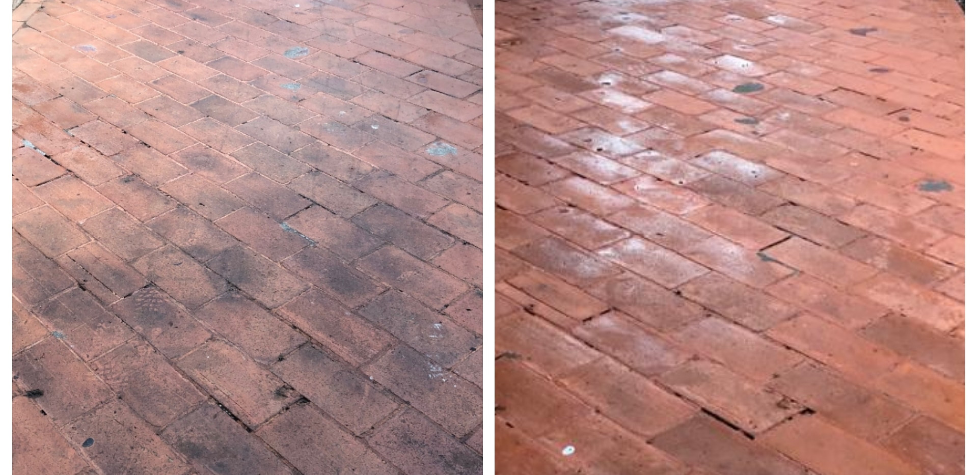 Brick cleaning - commercial