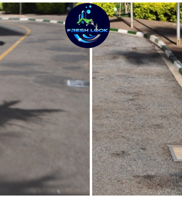 Tarmac cleaning - commercial