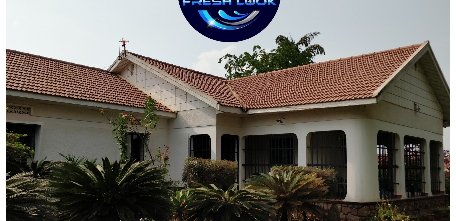 Roof cleaning - residential