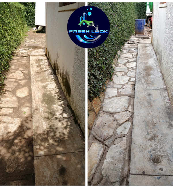 Stone cleaning - residential