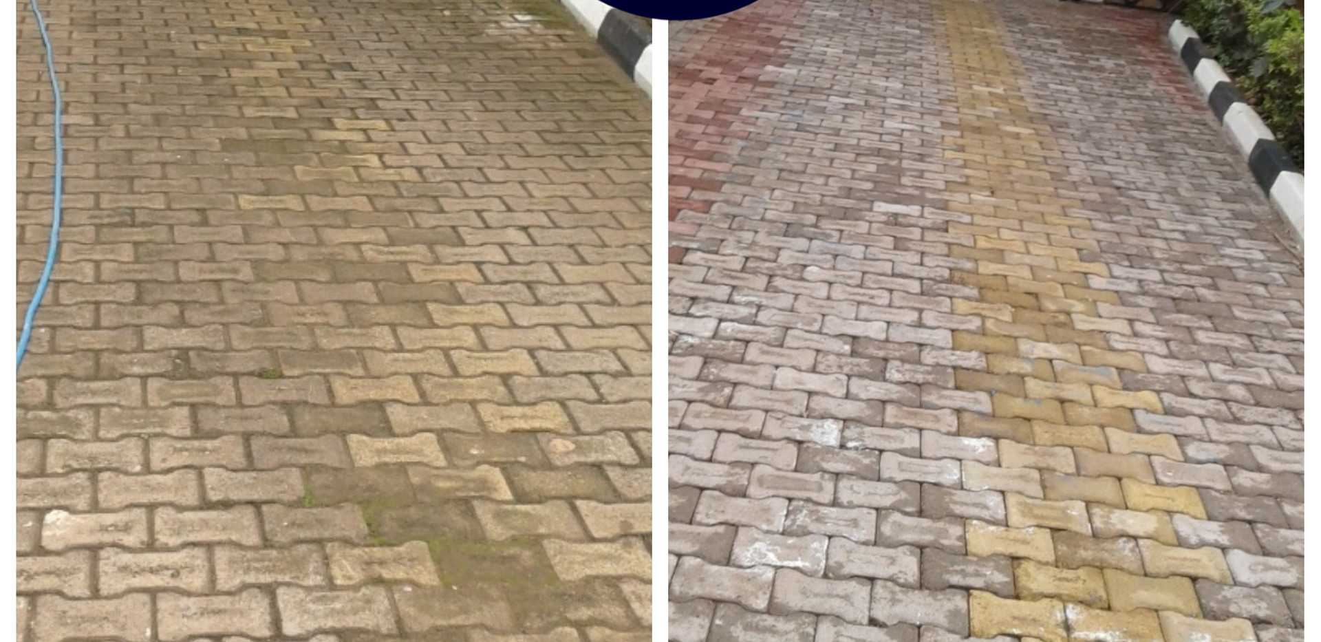 Paver cleaing