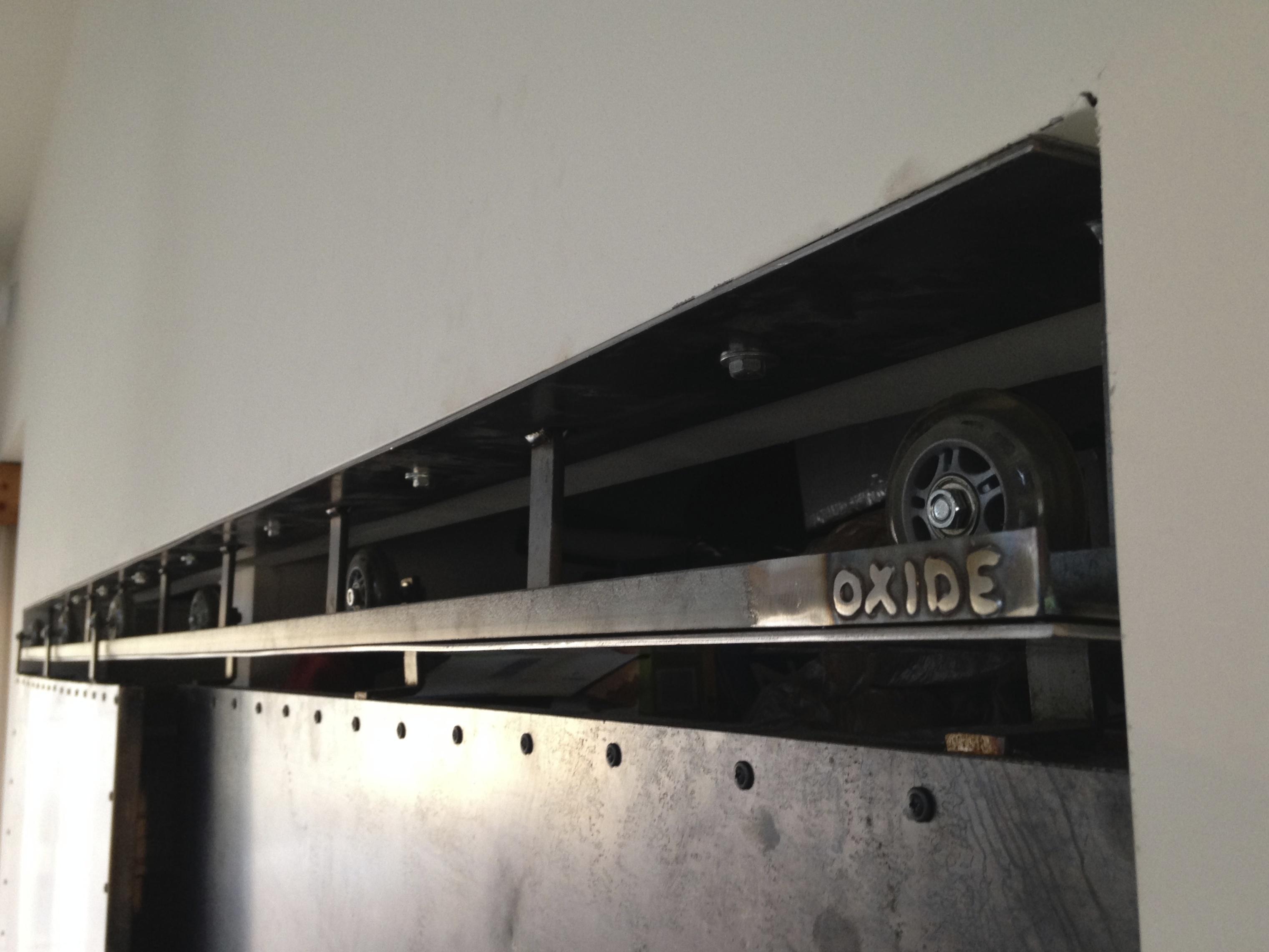 sliding doors detail