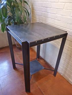 angle iron table
