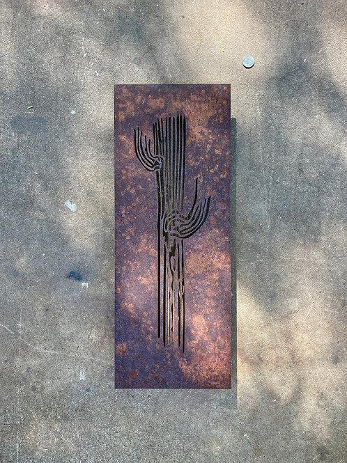 Small Saguaro panel