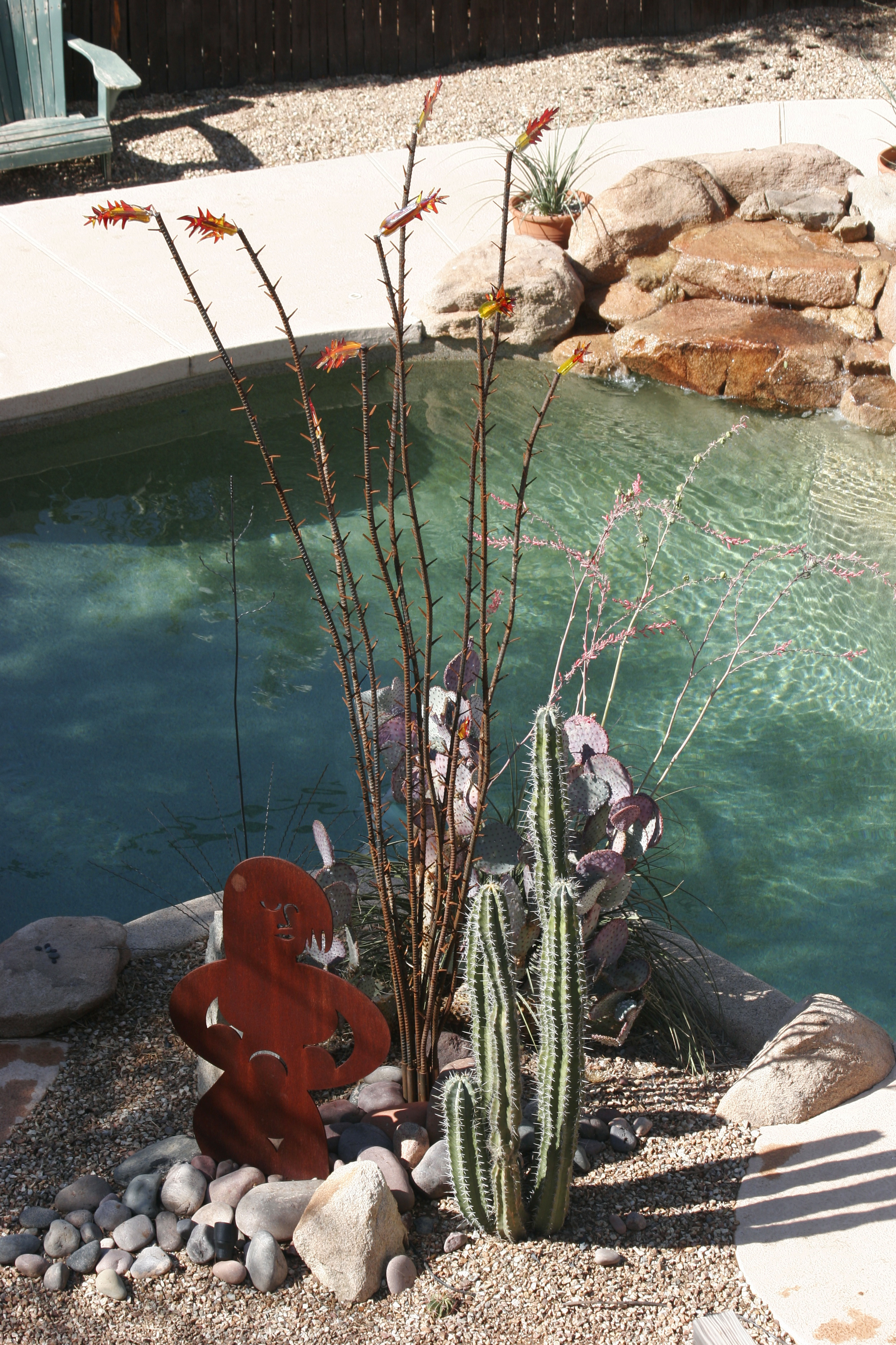 ocotillo, garden mother