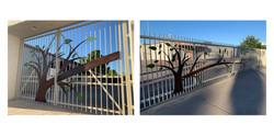 Emerson Elementary gates