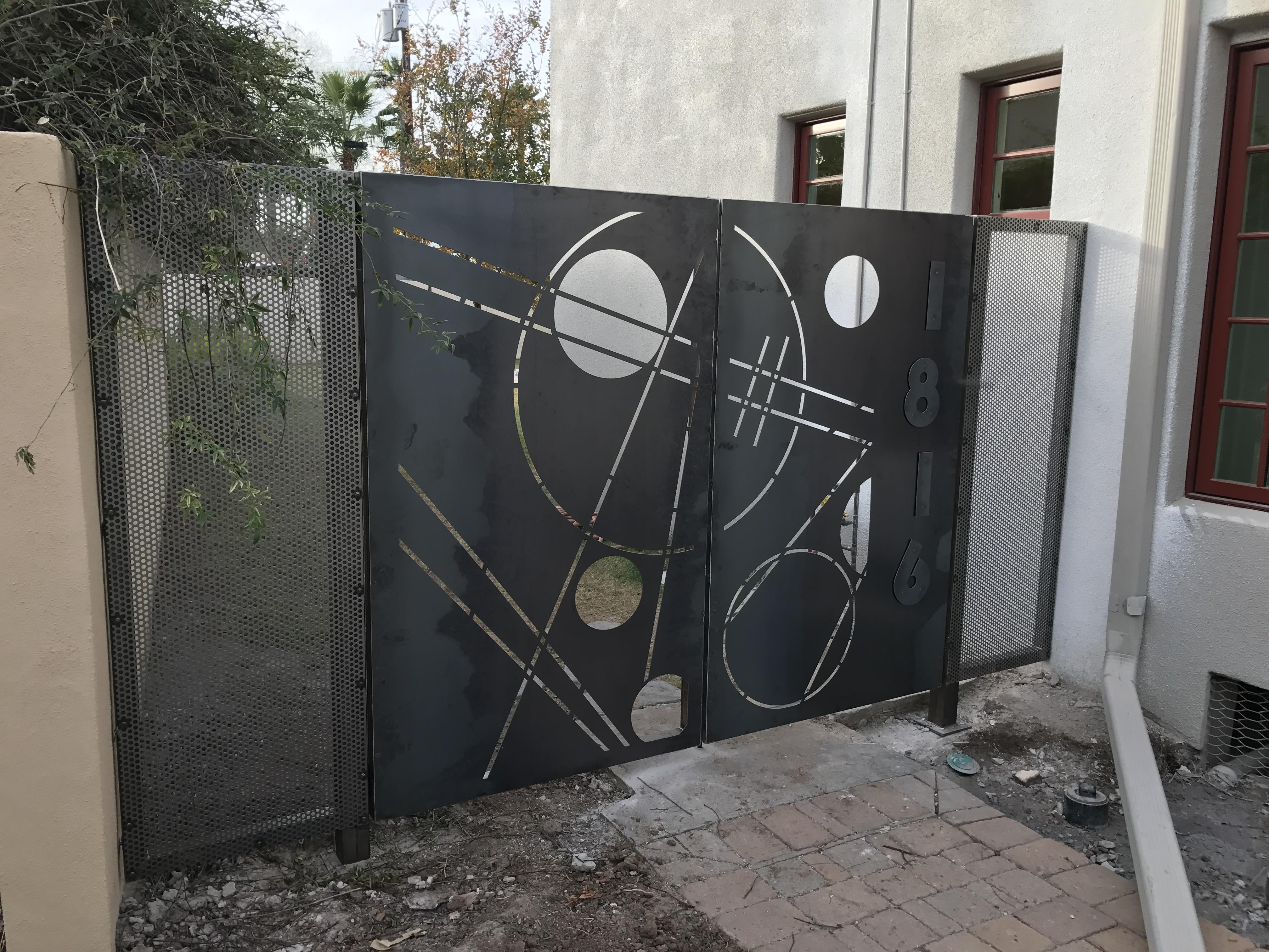 modern gate
