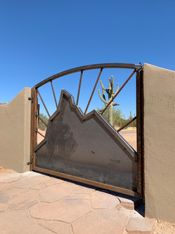 Pinnacle Peak gate