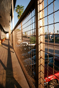 woven railing