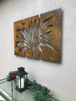Agave triptych