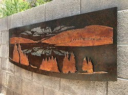 Mabel Lake wall hanging
