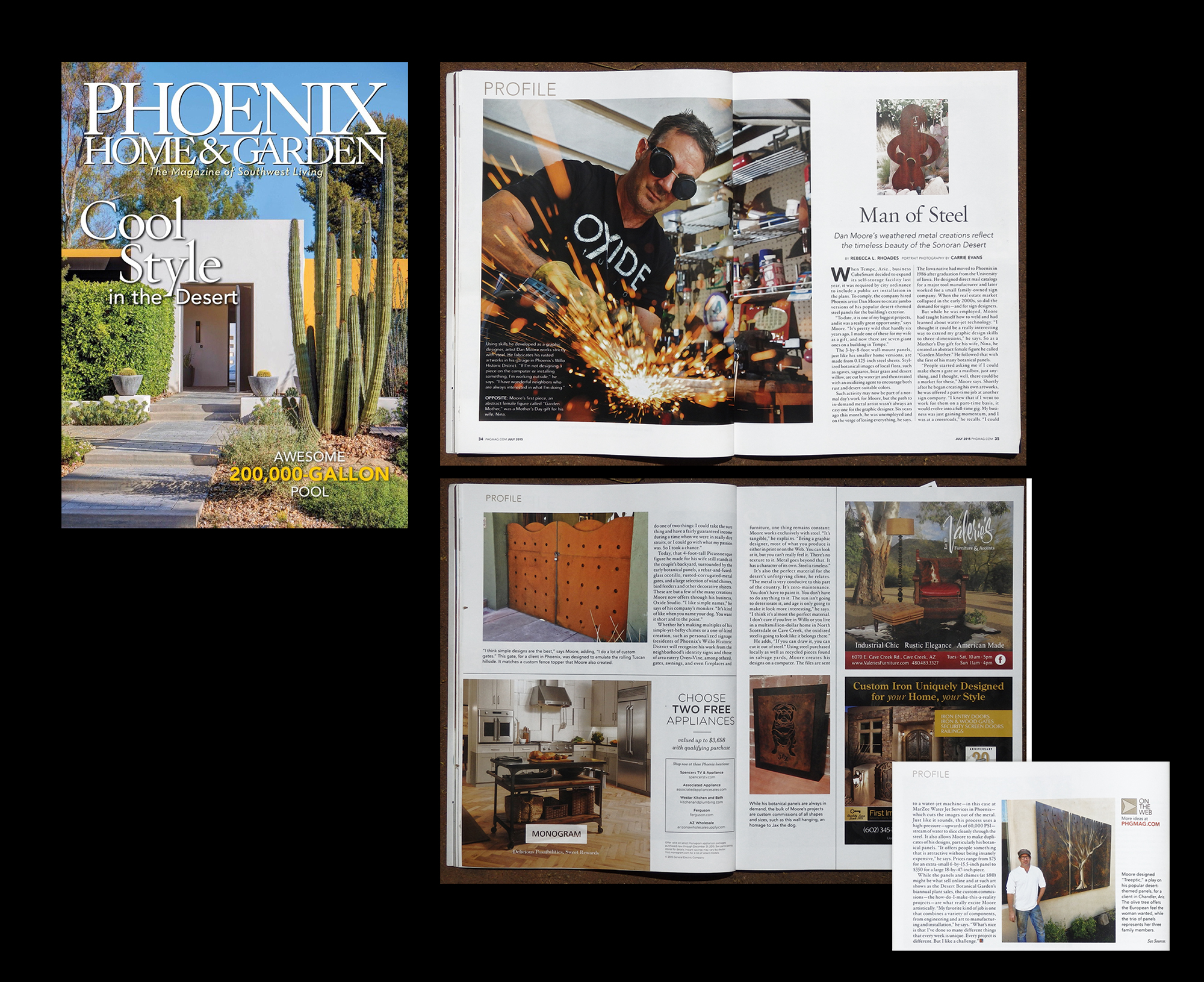 Phoenix Home and Garden, July 2015