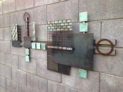 MCM wall sculpture