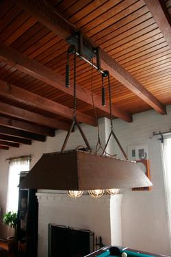 pool table lamp