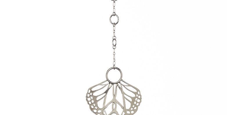 Metamorphosis Lariat in sterling silver