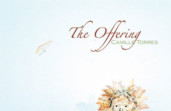 invitation to The Offering exhibition