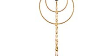 Luna Nouveau necklace with golden obsidian