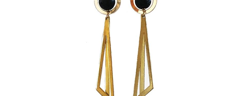 Blaze, essential oil chandelier earrings