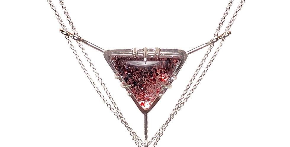 Lepidocrocite Quartz necklace