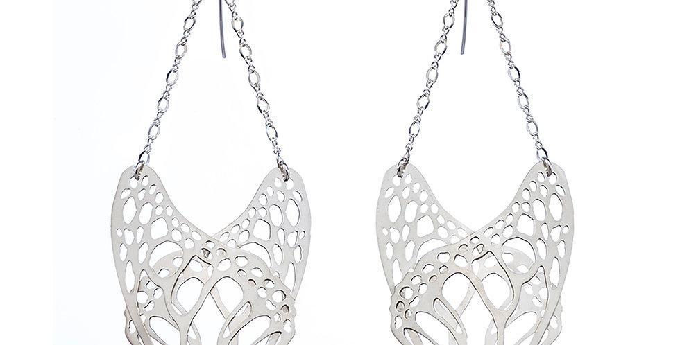 Slumber earrings in sterling silver