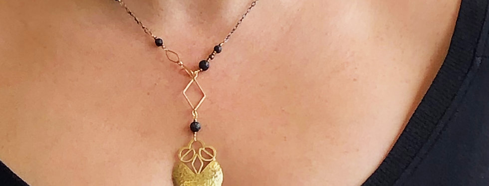 Seeds of Wellbeing, essential oil necklace