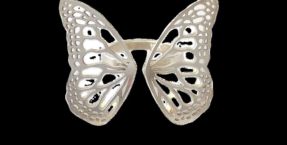 Migration, sterling silver adjustable ring