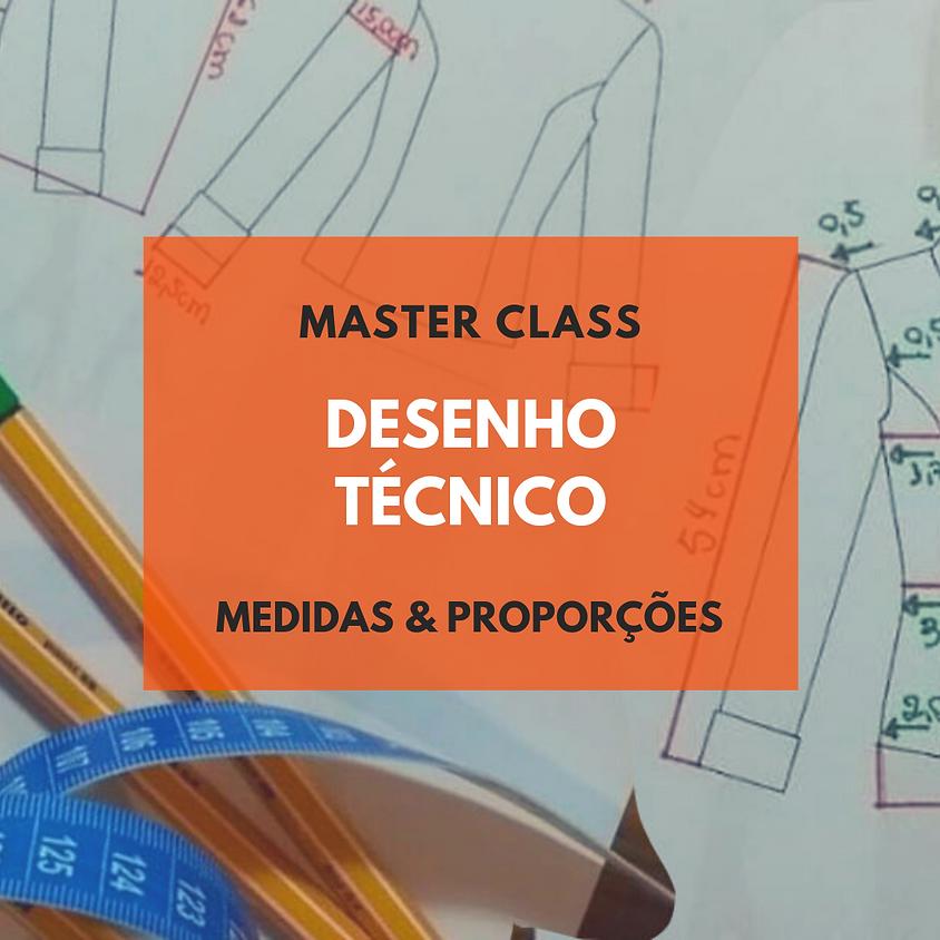 MASTER CLASS DESENHO TÉCNICO DE MODA