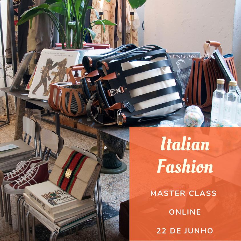 MASTERCLASS MODA ITALIANA - ONLINE
