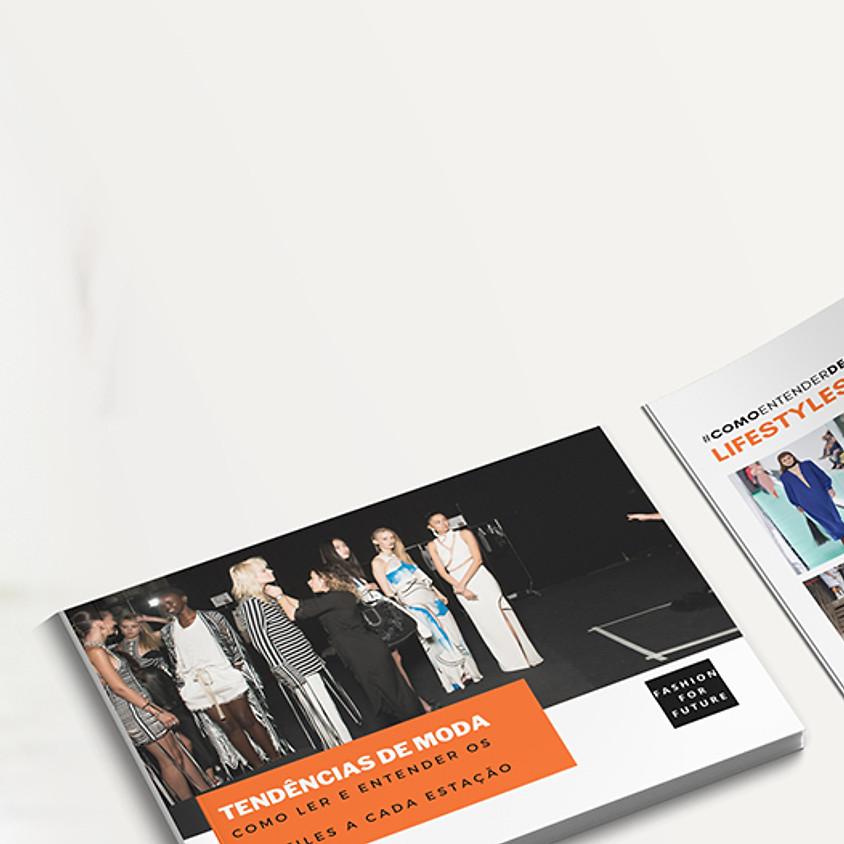 Video-aula Desfiles de moda + Caderno de tendência Milão e Paris