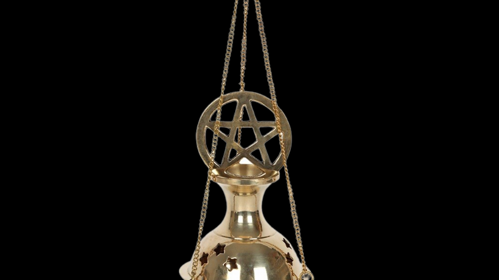 PENTAGRAM | Hanging Incense Cone Burner