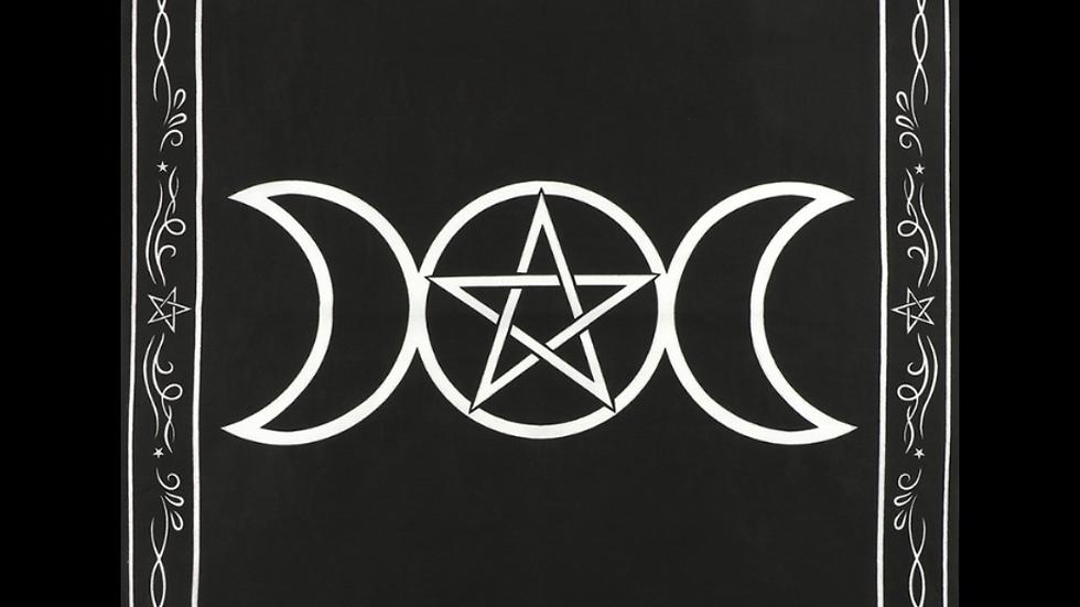 TRIPLE MOON | Altar Cloth